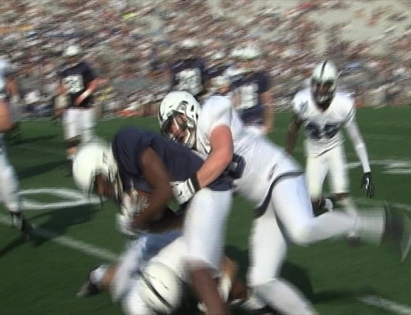 Von Walker - Blue White Game 2015_1741446773042202233