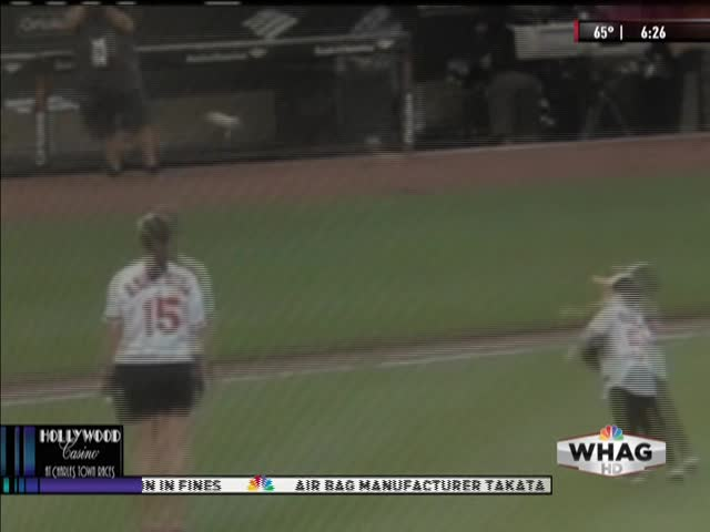 Local Orioles Fan Throws Out First Pitch_829700094920379883