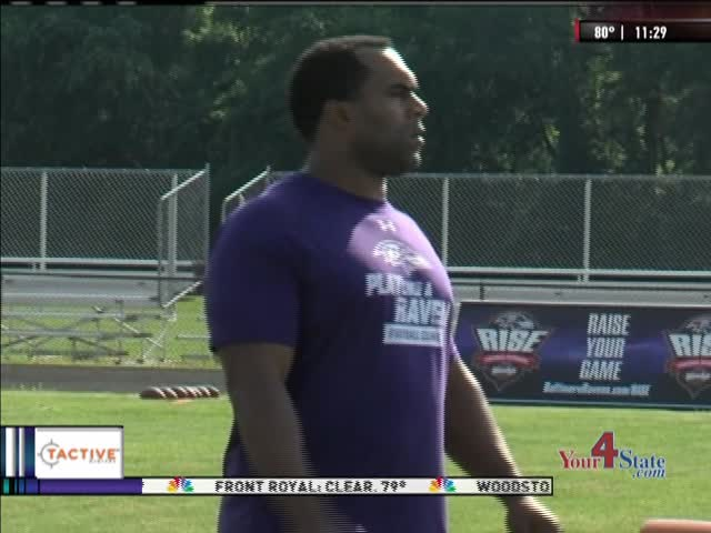 Ravens hold clinic at Williamsport_-4525409207970348003