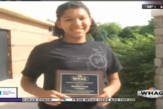 Female Student Athlete of the Month_  Khaliah Frost_-2784694074535690020