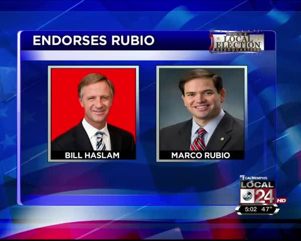 Tennessee Gov- Bill Haslam Endorses Marco Rubio_20160226000415