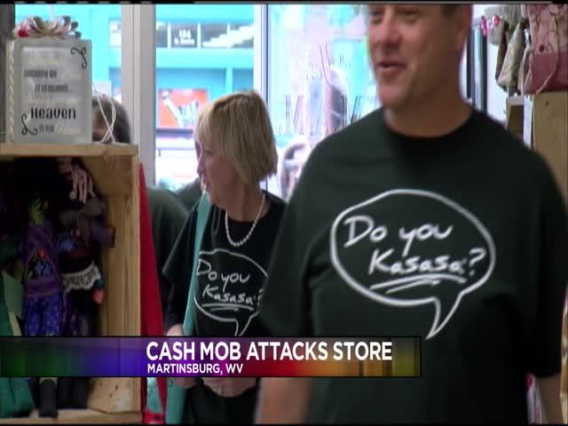 Cash Mob visit local Martinsburg  business_65822267-159532