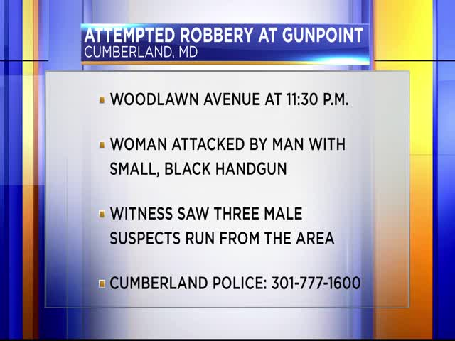 Attempted robbery at gunpoint in Cumberland_39023195-159532