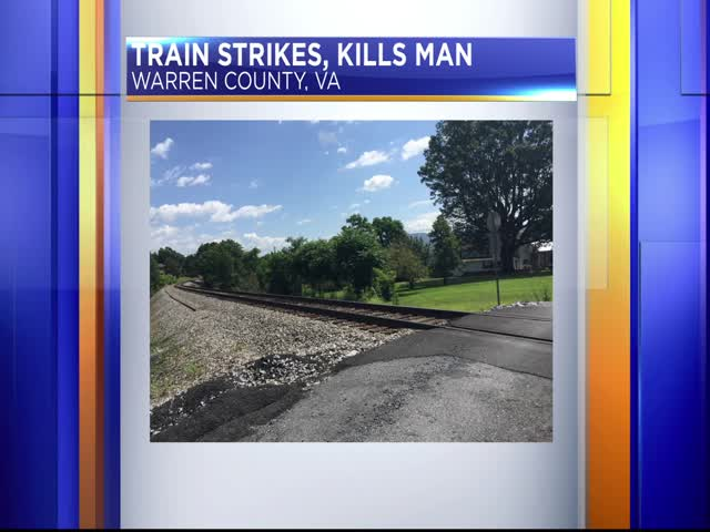 Man killed by train in Virginia_20794333-159532