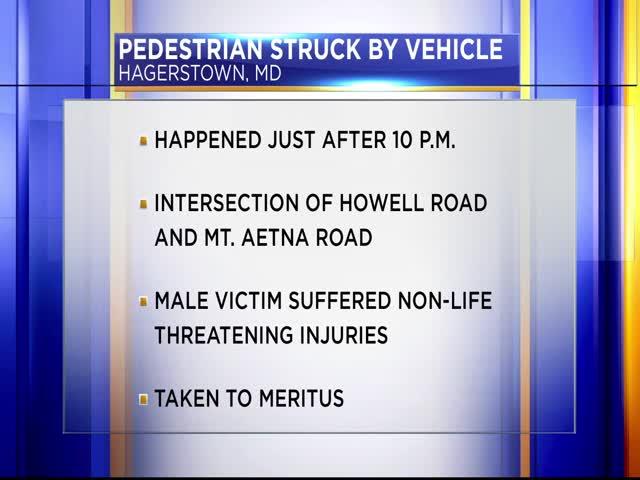 Pedestrian struck in Hagerstown_99245849-159532