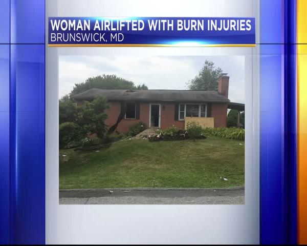 Woman burned in Brunswick house fire_75024779-159532