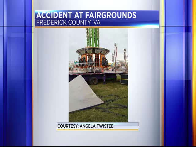 Woman falls 40 feet at Frederick County Fairgrounds_97093106-159532