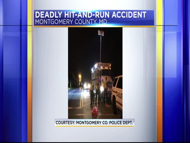 Deadly hit-and-run accident in Montgomery County_08026061-159532