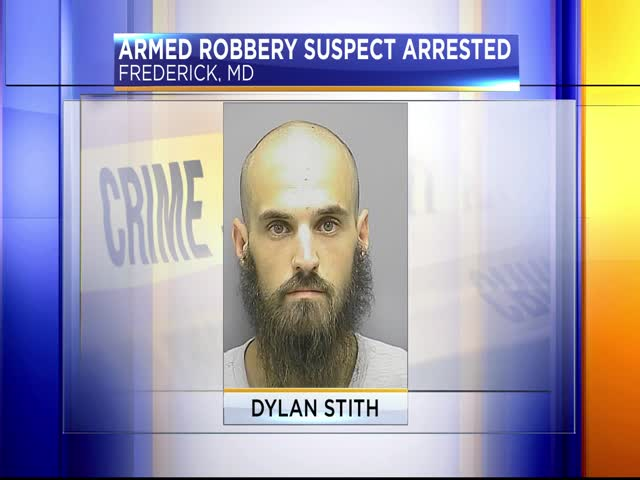 Suspect arrested for Frederick armed robberies_57495087-159532
