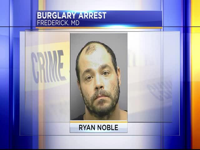 Burglary arrest in Frederick_79796203-159532