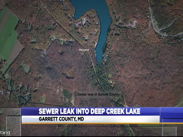 Deep Creek Lake sewage leak_15383405-159532