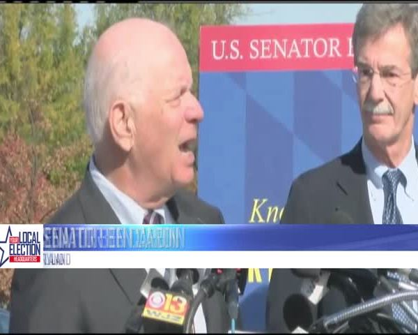 Cardin speaks on voting rights
