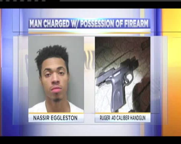 Montgomery County man arrested for possession of a firearm_17838477-159532
