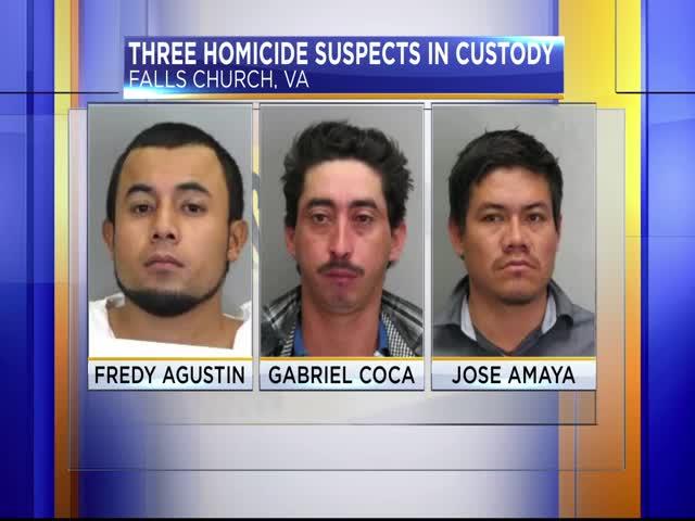 Three homicide suspects in custody_63126271-159532