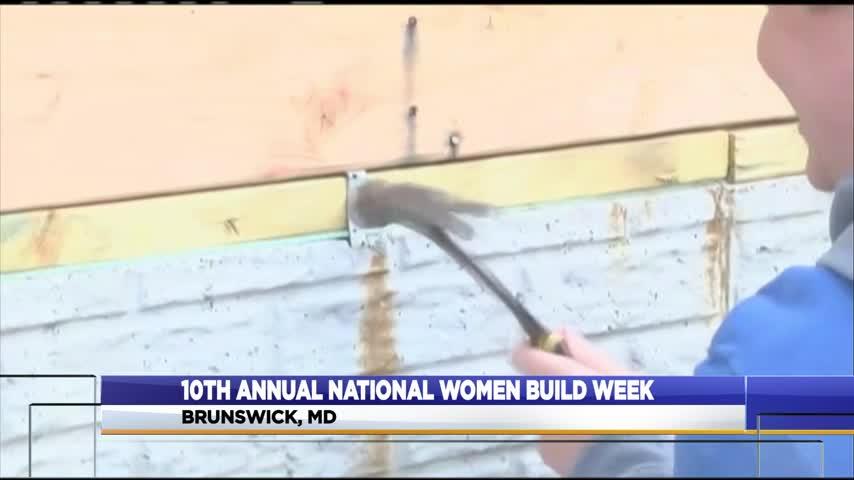 "10th annual ""National Women Build Week"""