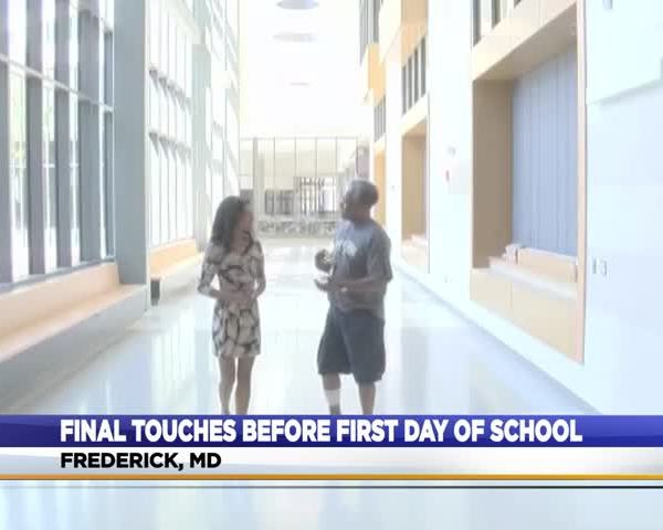 FCPS puts final touches on new school