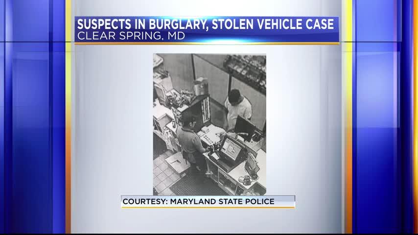 Burglary- stolen vehicle case_90902901
