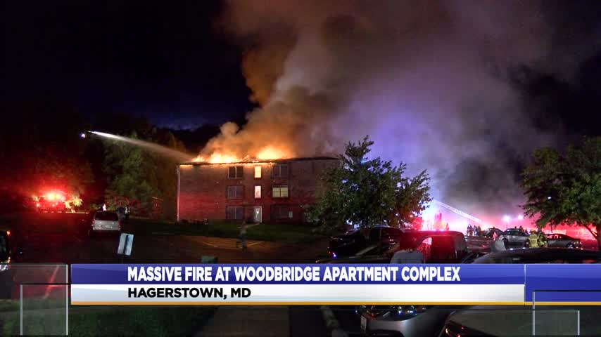 Fire at Hagerstown apartment complex
