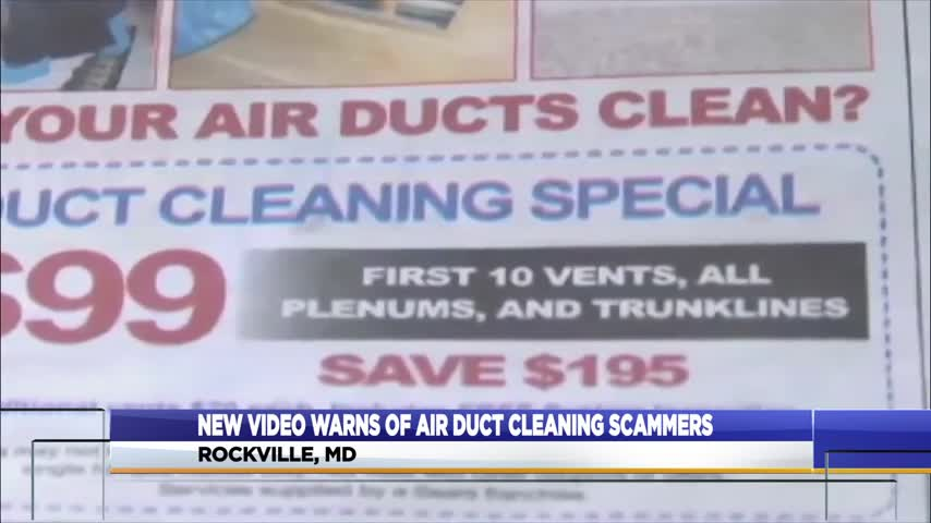 Air duct scams