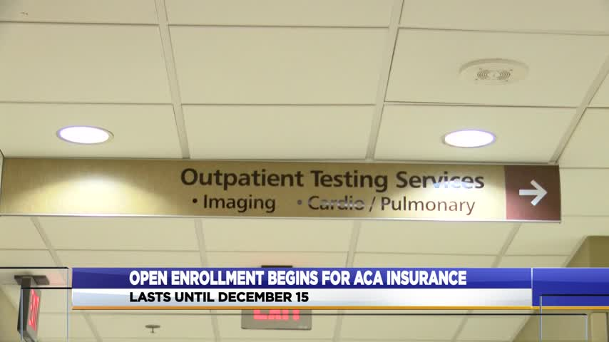 Open enrollment begins for ACA insurance_15496629