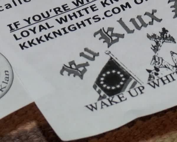 KKK fliers