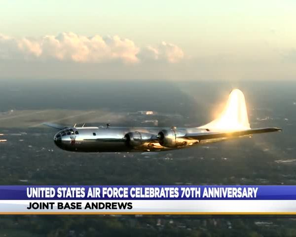 U.S. Air Force celebrates 70 years