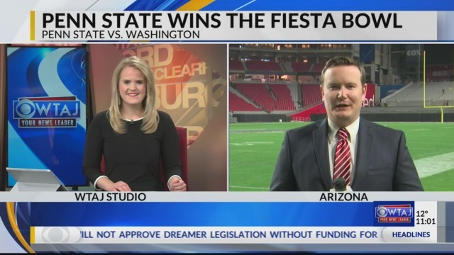 Penn State wins the Fiesta Bowl