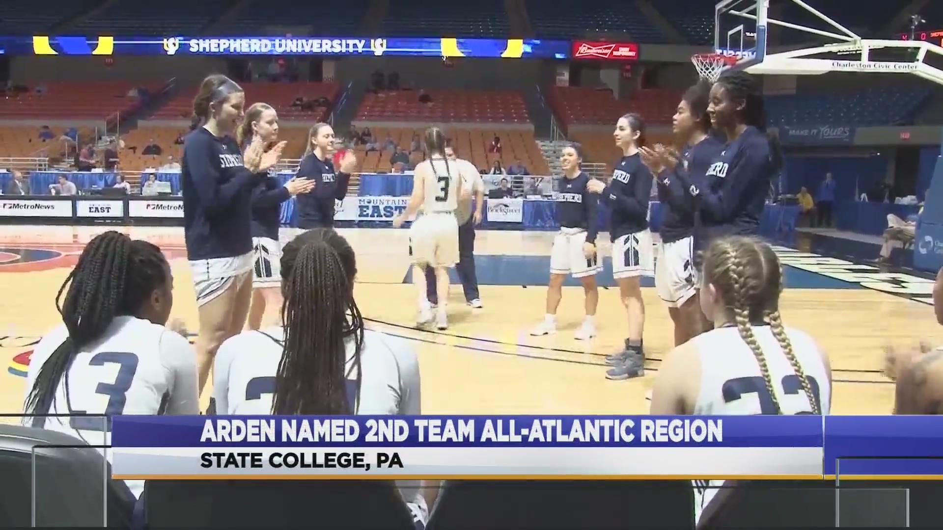 Arden named to All-Atlantic Region Team