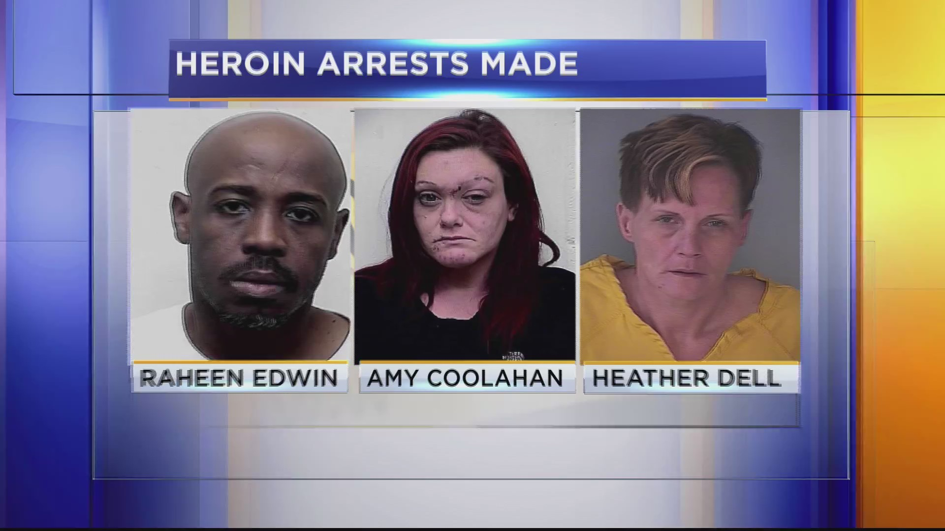 HEROIN ARRESTS MADE