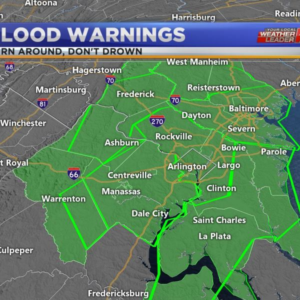 Flood Warnings continue for the four-state region