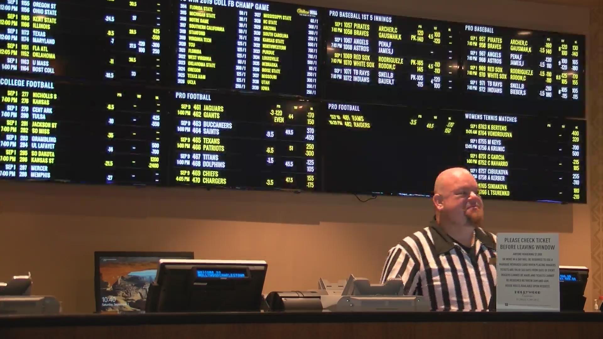 charlestown sports betting