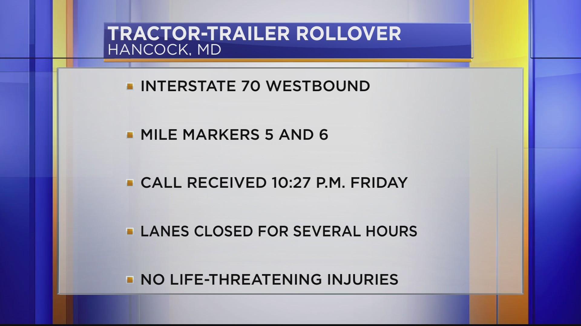 Interstate 70 re-opens following crash