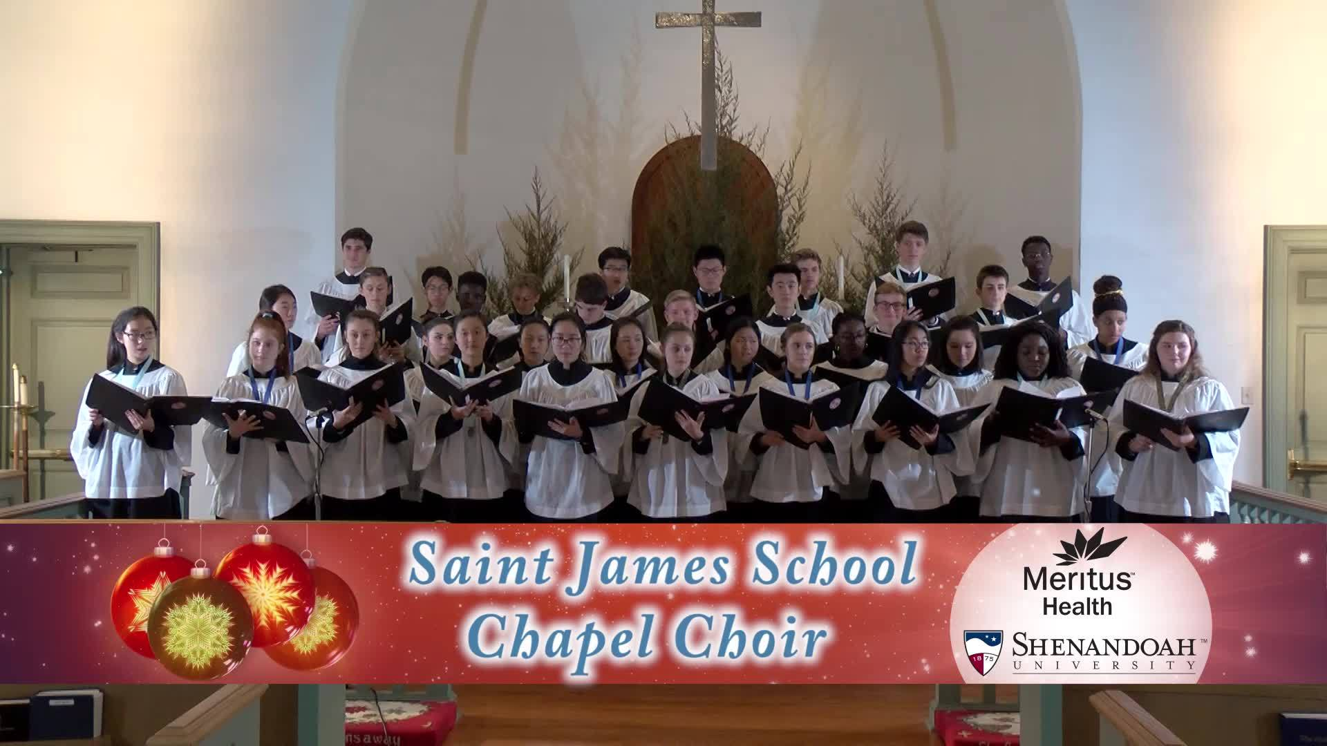 Saint James School - Ding! Dong! Merrily On High