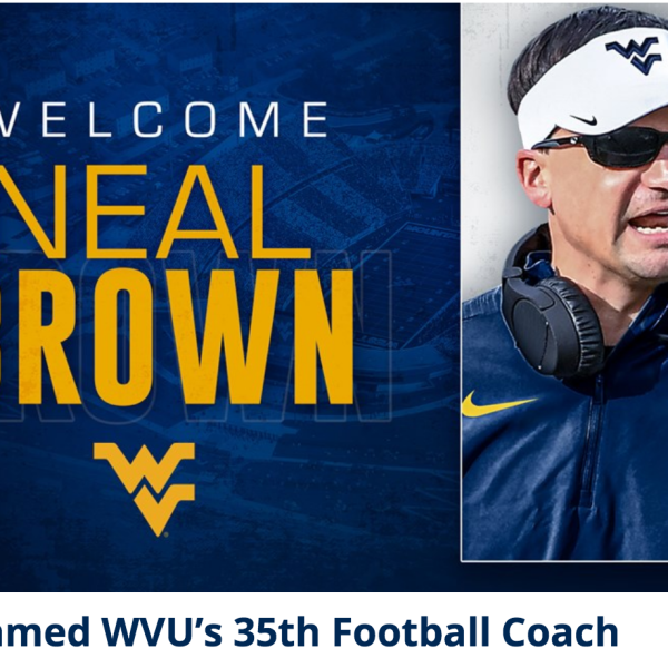 Welcome Neal Brown to WVU