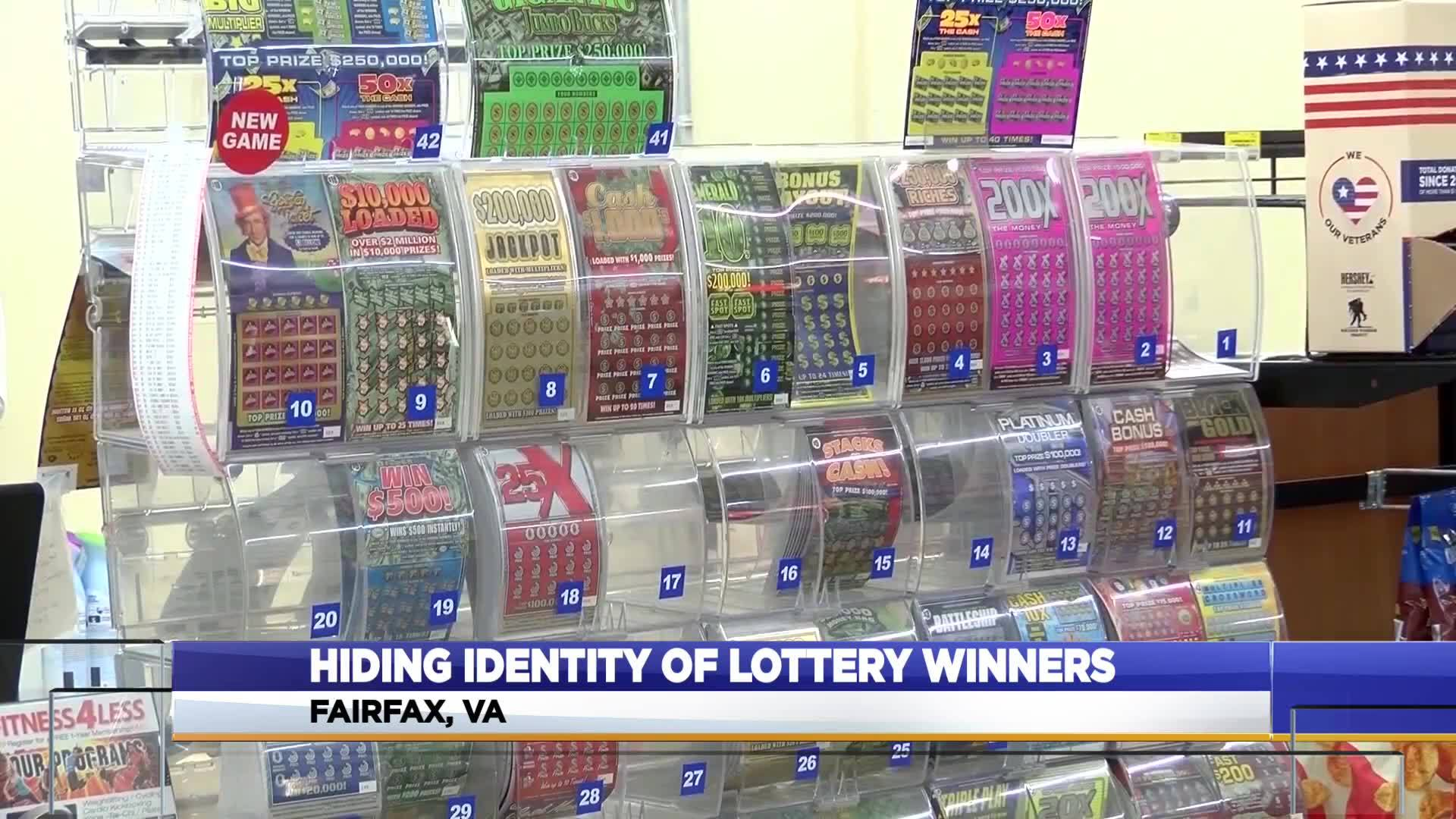 Bills could be pushing Virginia to keep lottery winners names private