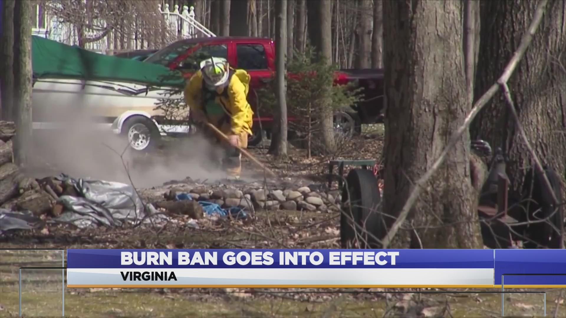 VIRGINIA BURN BAN