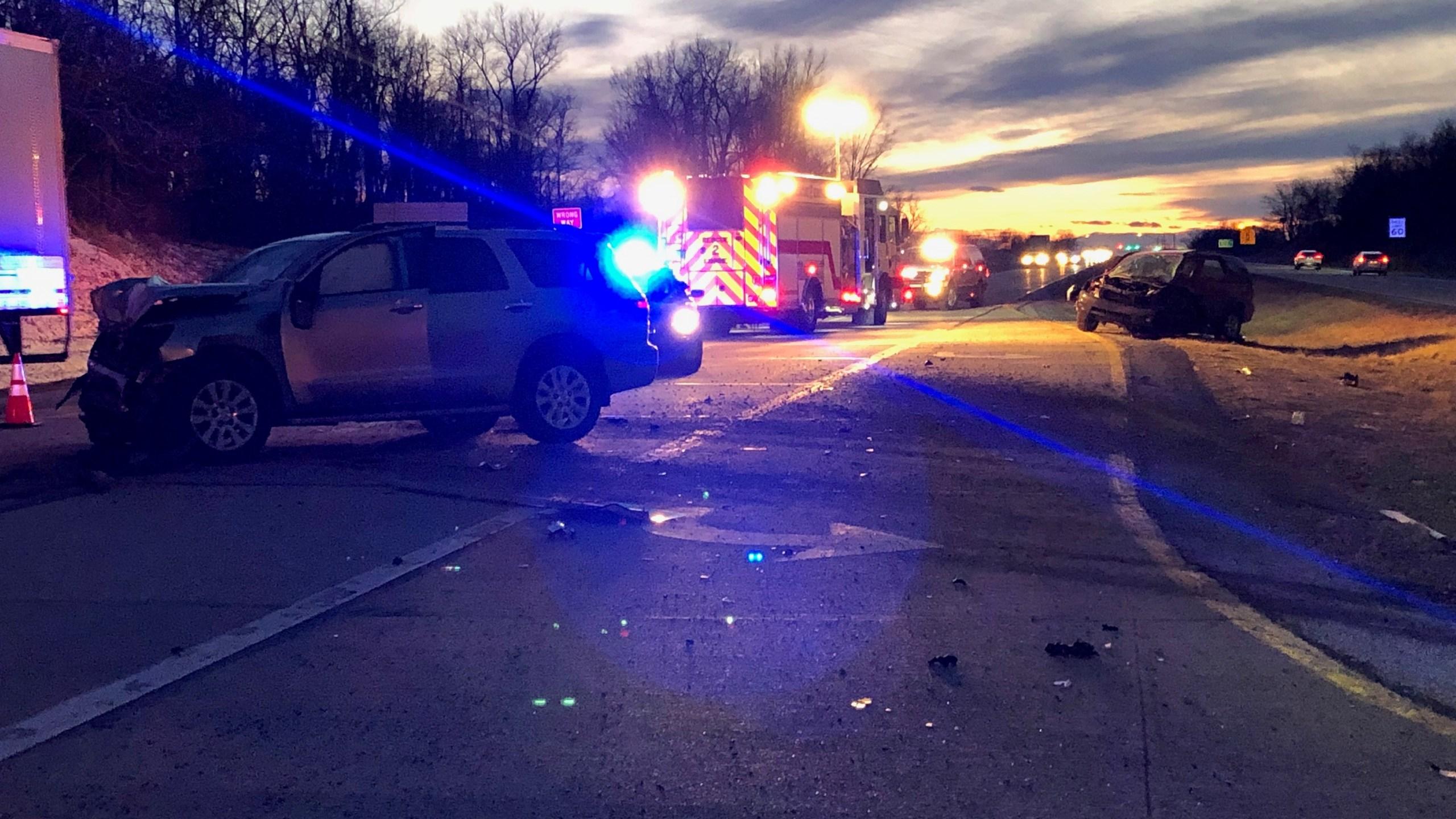 Fatal car crash on Rt  340