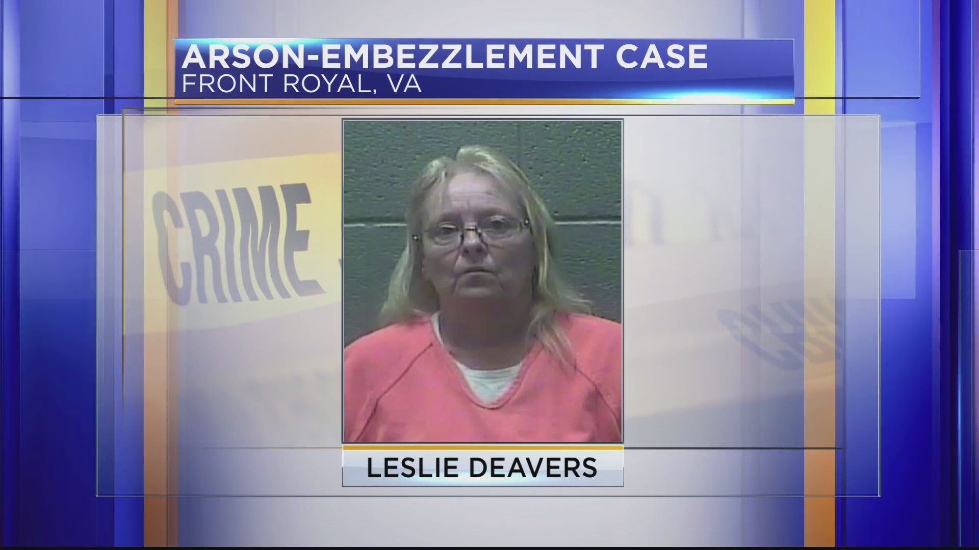 ARSON-EMBEZZLEMENT CASE