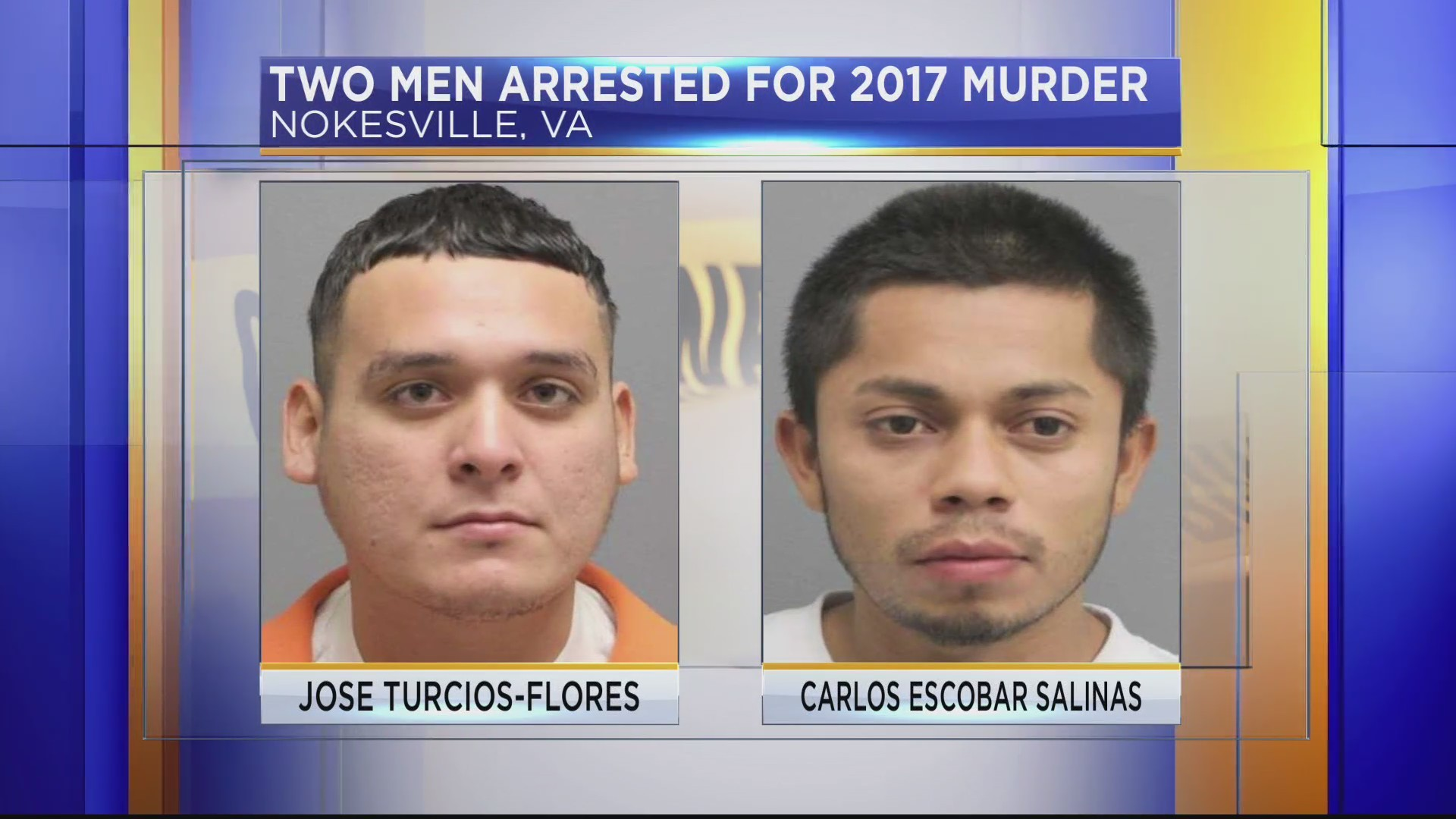 Two men arrested for 2017 Nokesville murder