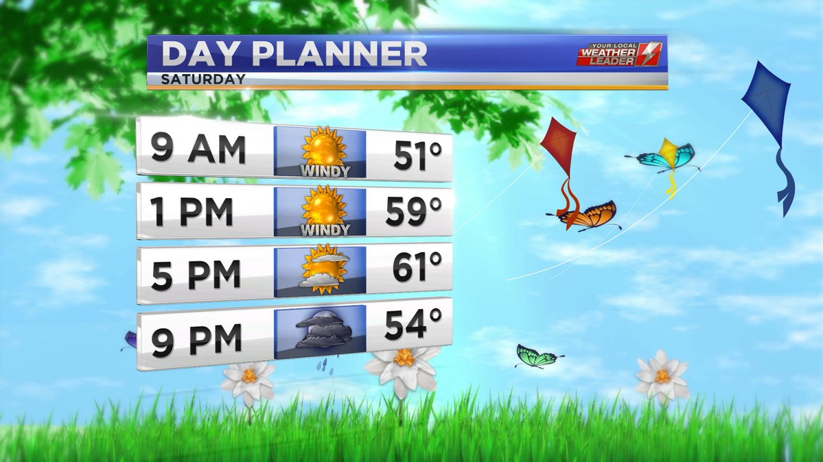 Day Planner Saturday 27 April 2019