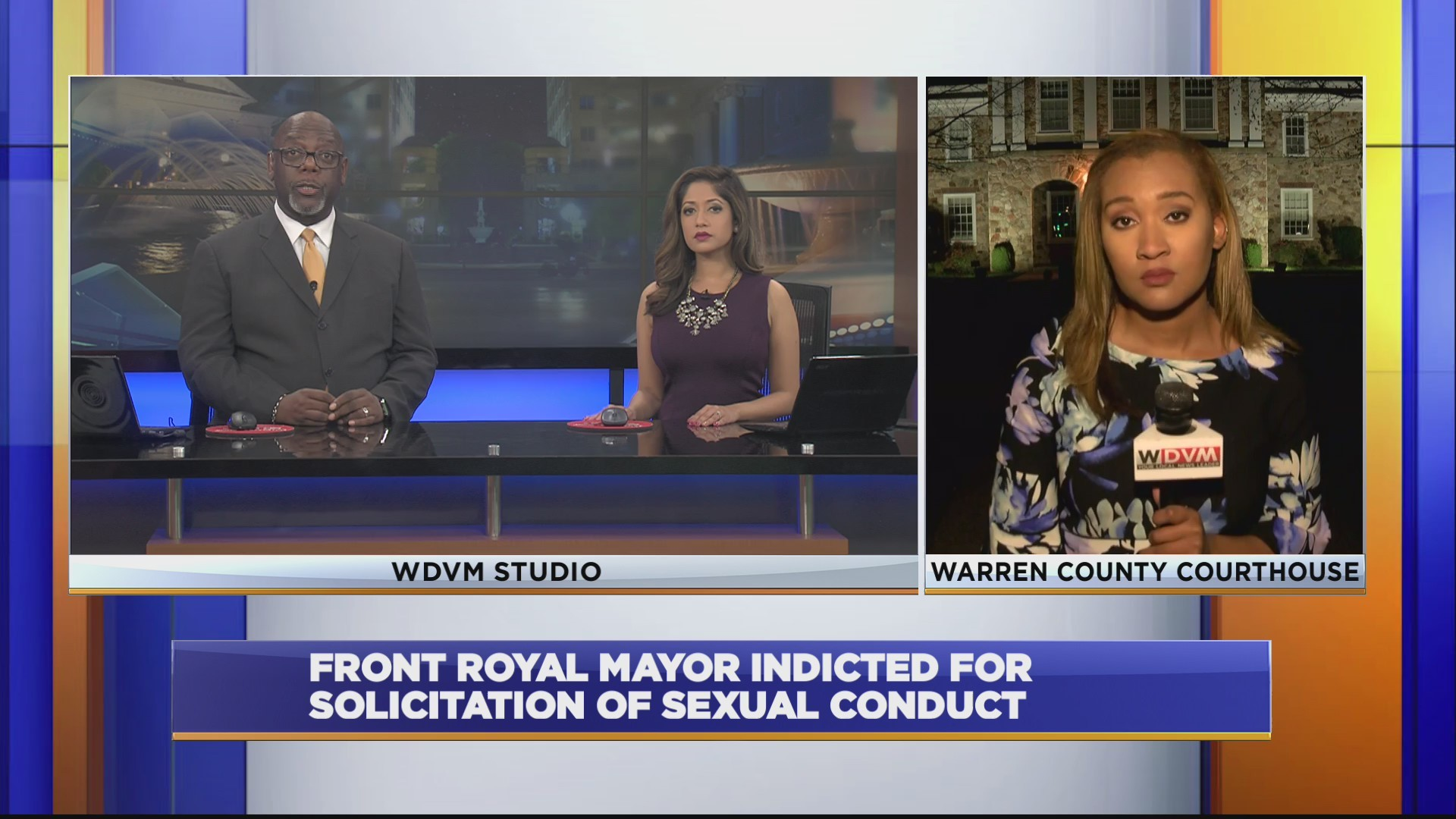 Front Royal Mayor indicted for solicitation of sexual conduct