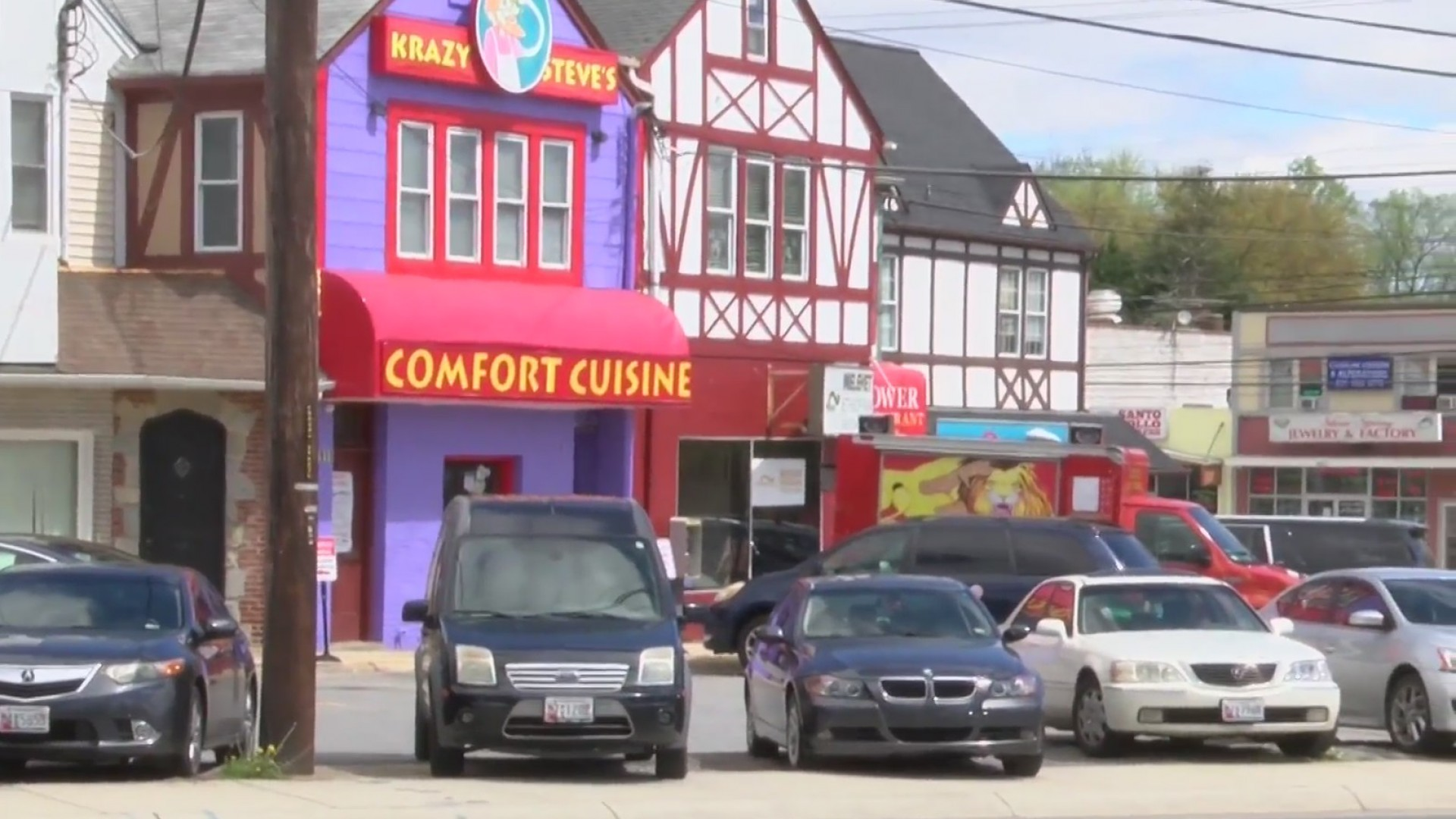 Fire Damages Restaurant In Silver Spring