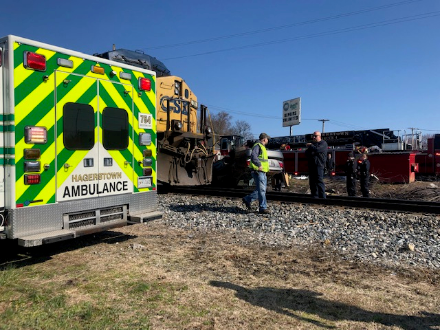 Hagerstown Train Accident