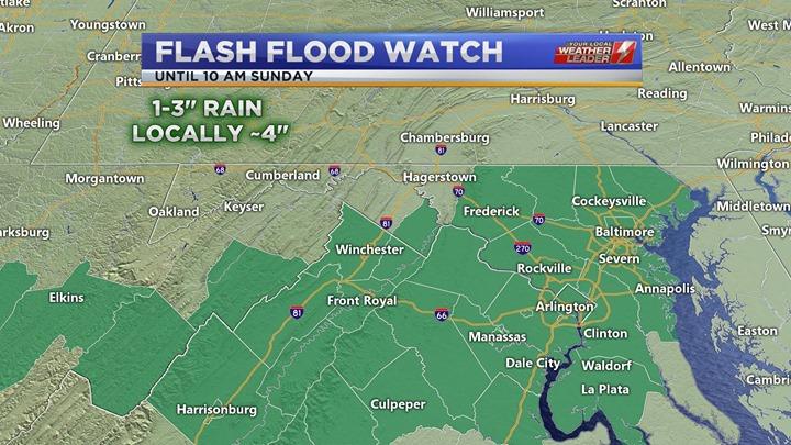Flash Flood Watch Saturday 04 May 2019