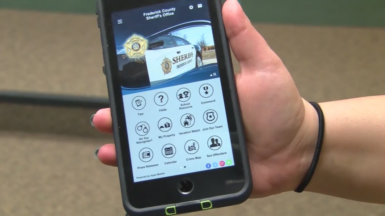 County sheriff's office launches new app, website