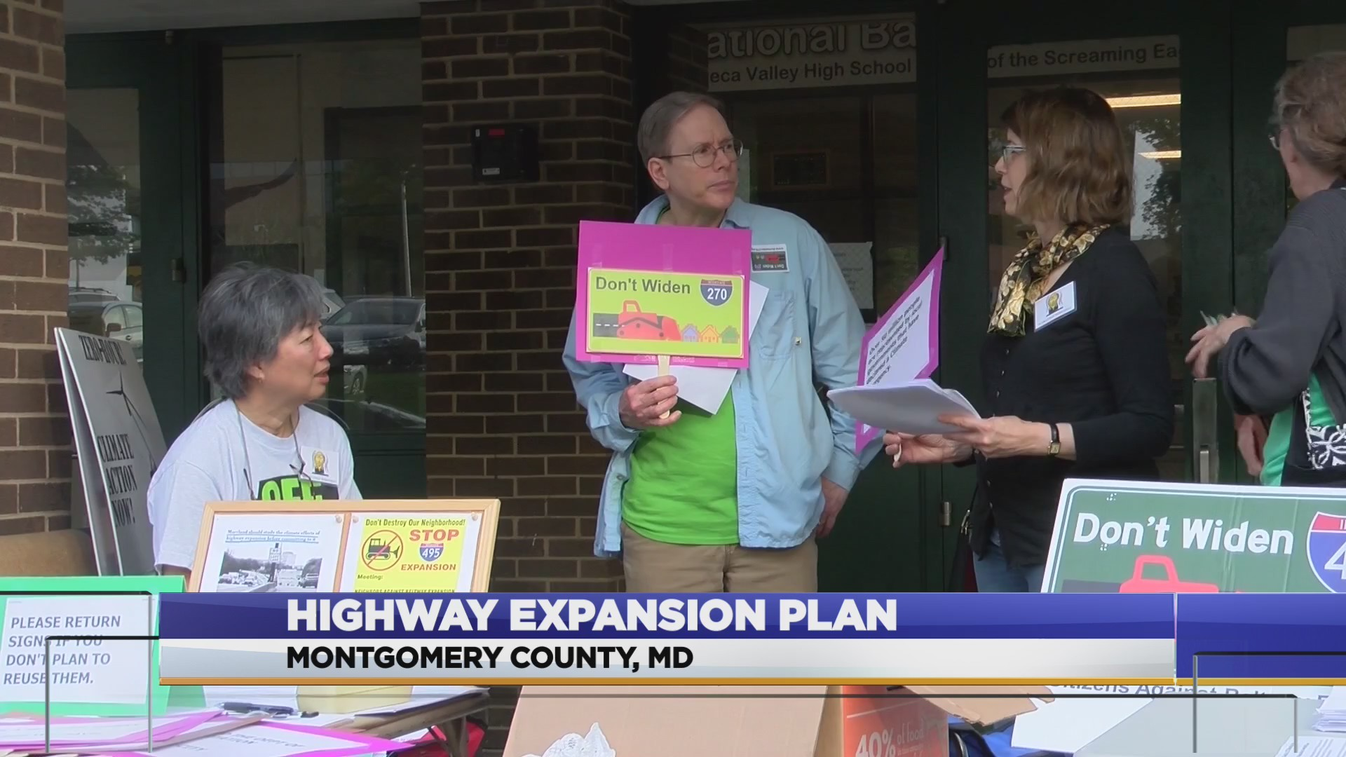 Meeting held for proposed I-270 and I-495 expansion plan
