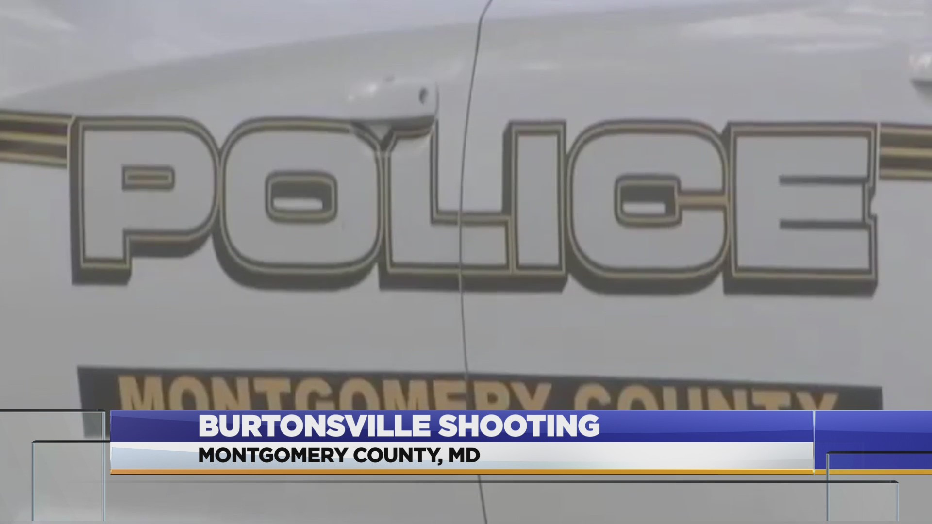 Montgomery County Police investigate shooting at traffic light