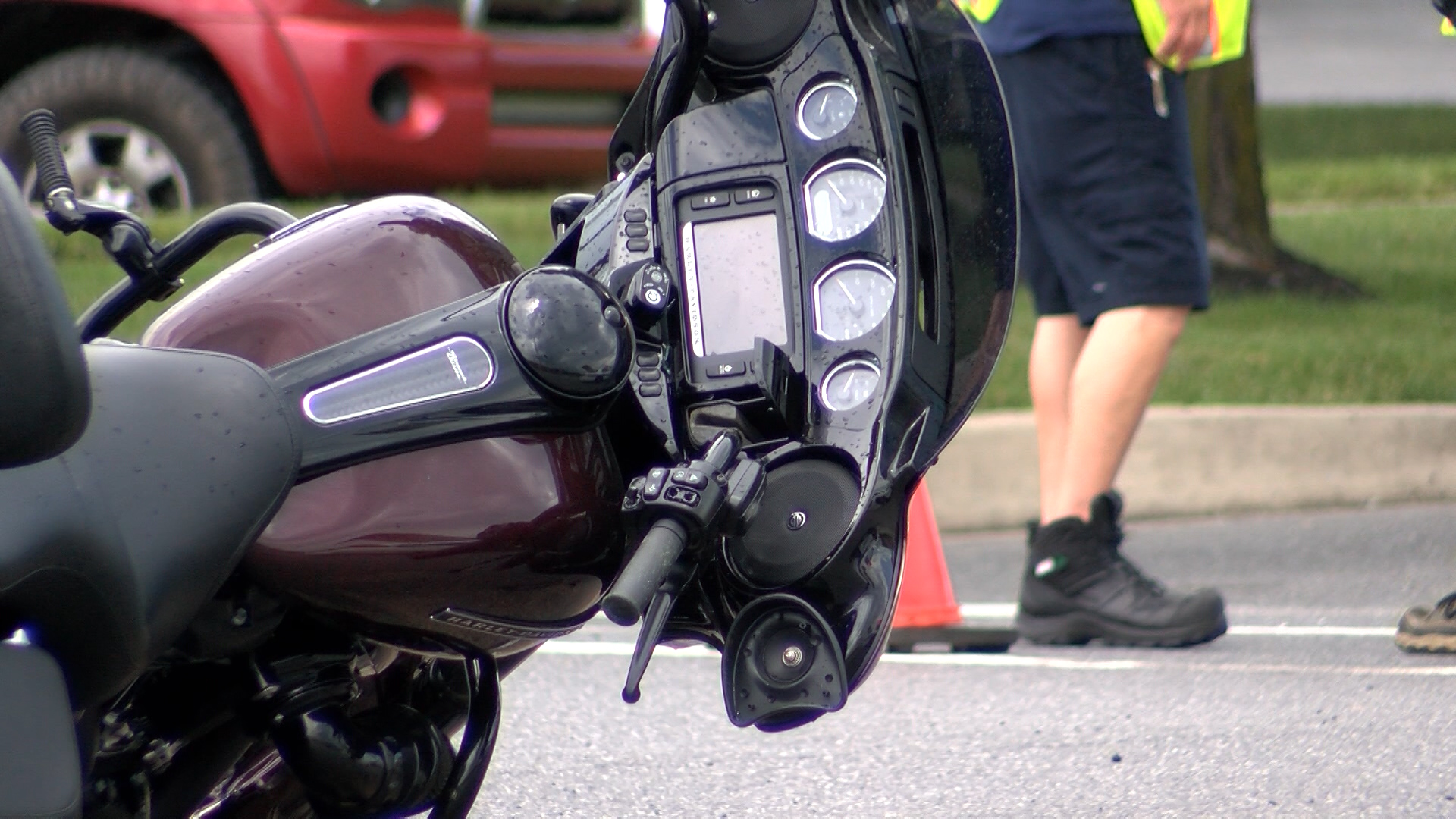 Motorcyclist in serious condition after Hagerstown accident