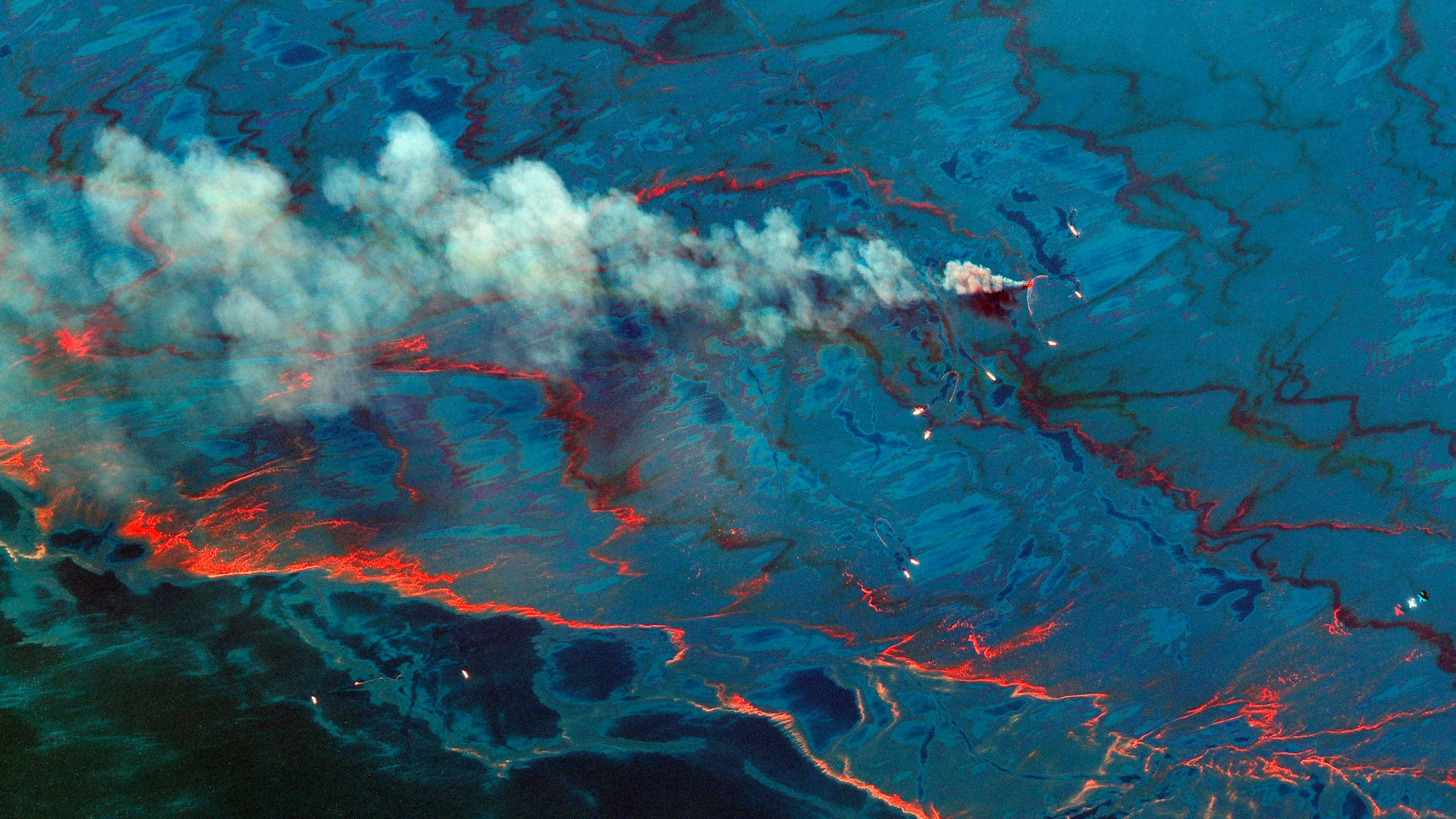 YE Decade from Space BP Oil Spill
