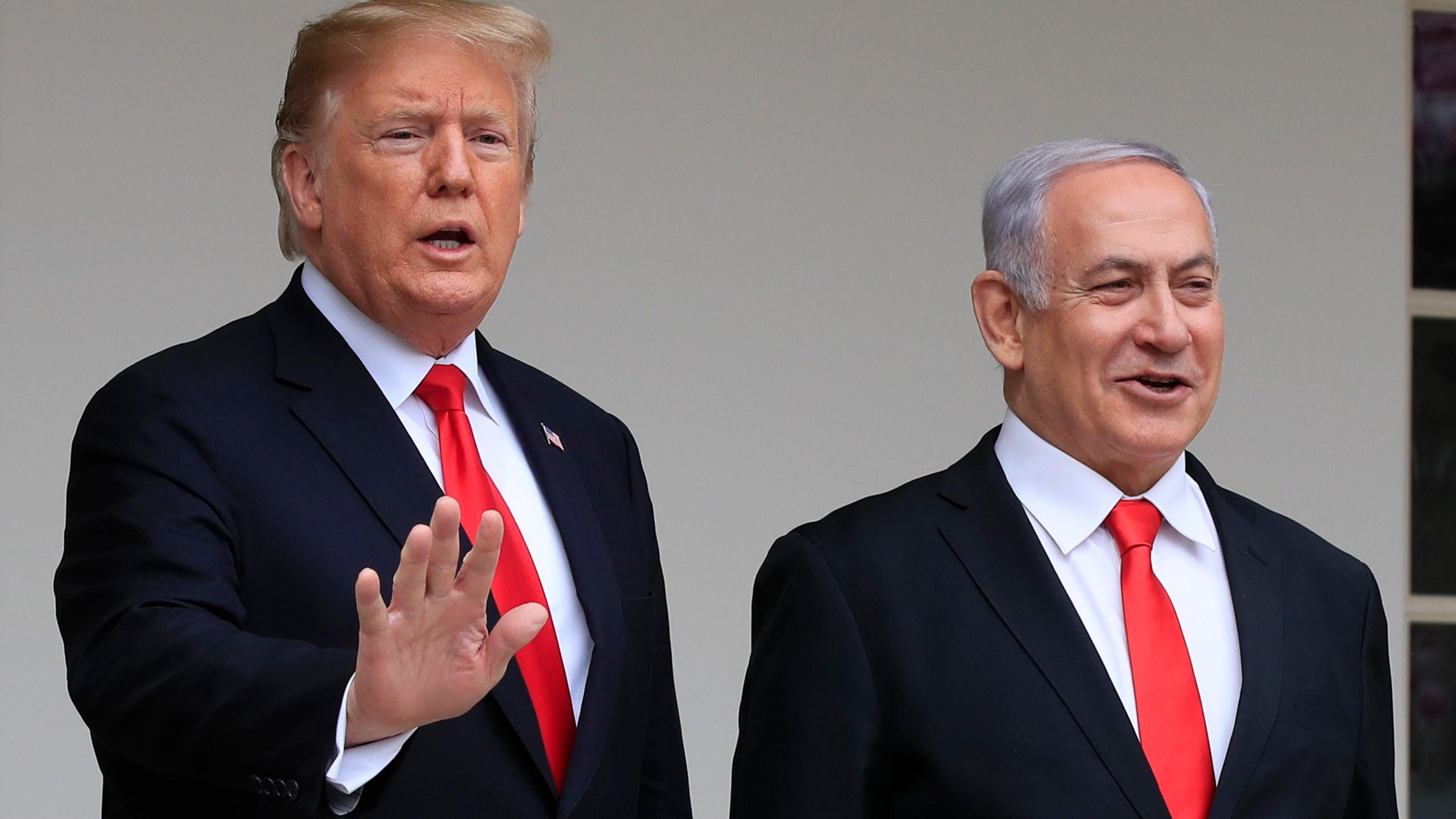 Donald Trump, Benjamin Netanyahu